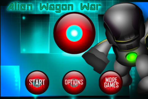 Screenshot Alien Wagon War